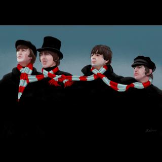 Illustration - Beatles
