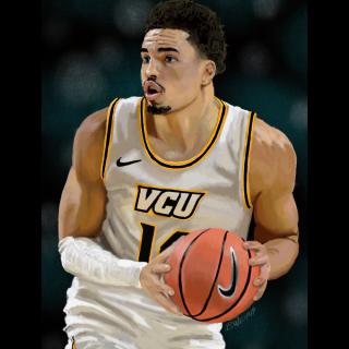 Illustration - VCU Basketball