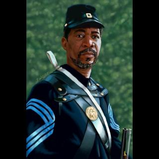 Illustration - Morgan Freeman