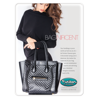 Bagnificent Ad - Puritan Cleaners